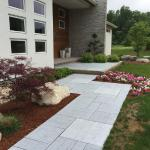 Designed and Installed by McClean in Farminton, CT with Techo-Bloc Travertina. 2015